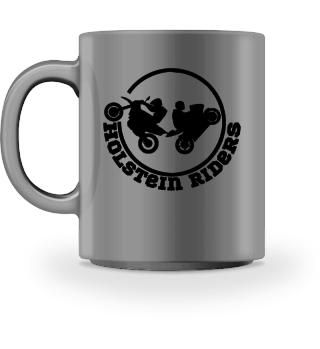 Holstein Riders Modern Black Tasse