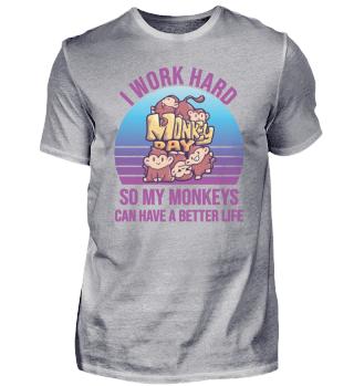 Menschenaffen Monkeyday Arbeit Büro