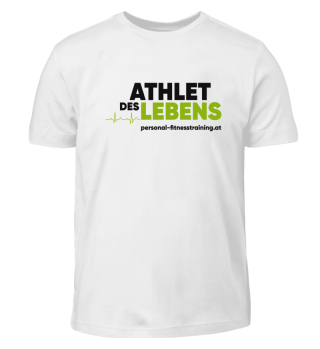 Athlet des Lebens Kids Shirt
