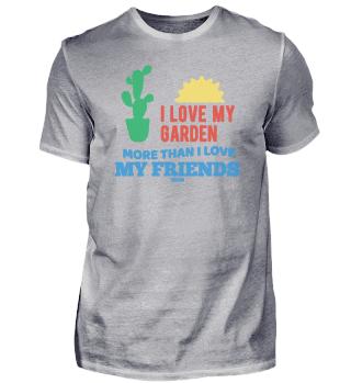 Friends Garden passionate gardener