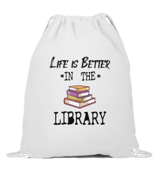BOOK READER/BOOK FAN : Life In Library