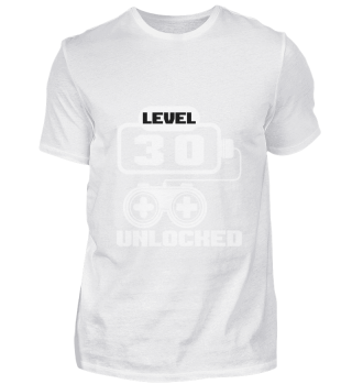 Level 30 unlocked birthday