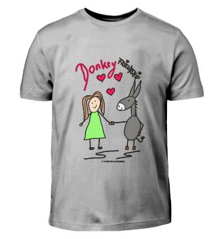 Kinder-Tshirt DONKEYFRIENDSHIP