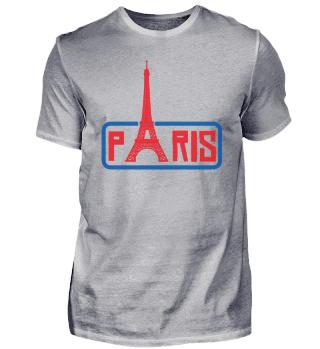 Paris Eiffel Tower Skyline France