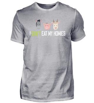Ich esse nicht meine Freunde Vegan Tiere