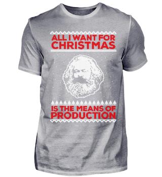 Karl Marx Ugly Christmas Sweater