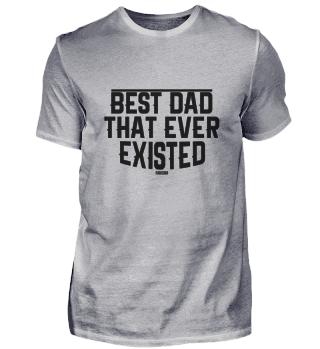 Papa Vatertag Familie Mann Geschenk