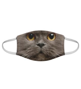 Gesichtsmaske mit Katzenmotiv 20.49