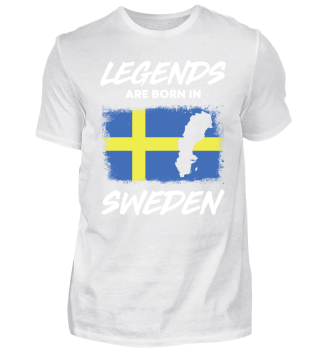 Legends are Born in Sweden