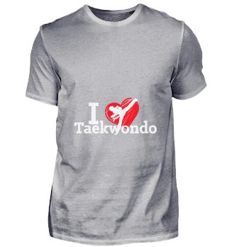 D001-0065A I love Taekwondo Sport