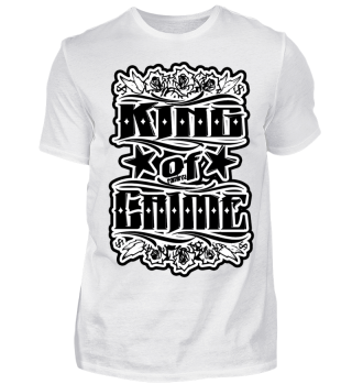 Herren Kurzarm T-Shirt King Of Crime BW Ramirez
