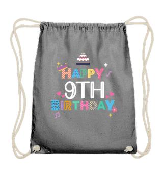 Happy Birthday 9th birthday
