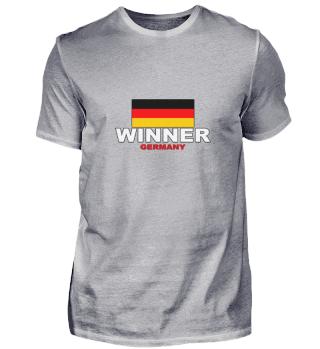 Gewinner Deutschland Flagge