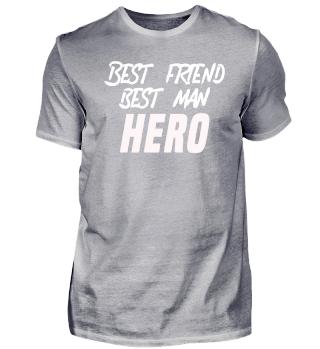 Trauzeuge - best Friend - HERO