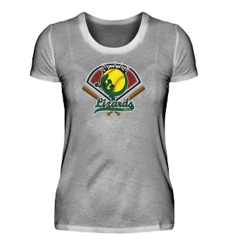 Lizards Ladies Premium T-Shirt Softball