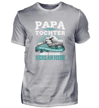 Papa und Tochter Motive T Shirt 02