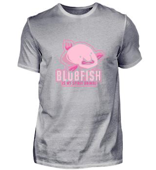Blobfish My Spirit Animal Fisch Hässlich