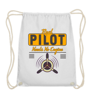 Real Pilot needs no Engine Gift Idea Fun