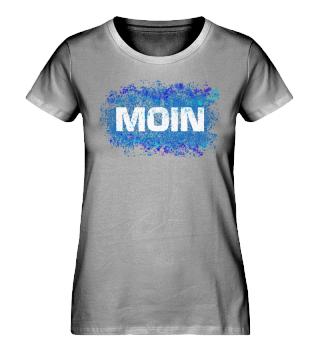 Moin Splash Blau Damen