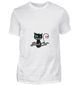 D004-0015 Black Cat Poker / Katze