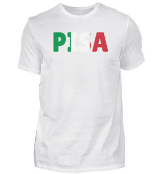 Pisa Italy flag holiday gift