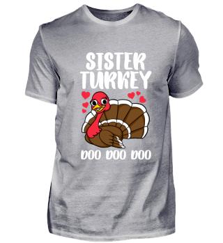 Schwester Sister Erntedank Geschenk