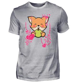 Fuchs Wald Tier Herz Liebe