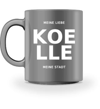 KOELLE - meine Liebe, meine Stadt Tasse