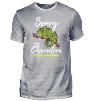 Chameleon Gift Green Lizard Reptile