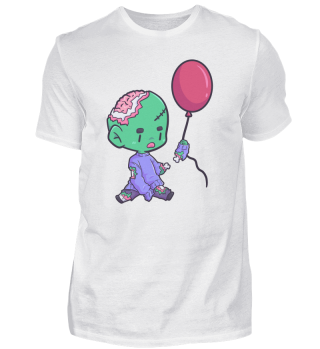 Zombie Child Balloon funny gift