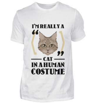D007-0096A I'm really a Cat in a human c