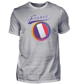 France Sports 2021 Holi Color Framed France Flag design