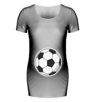 Fussball Frauen Schwangerschaft Shirt
