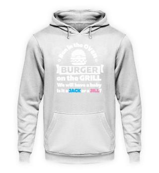 Gender Reveal Burger Jack or Jill Gift