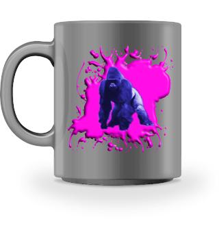 Gorilla Blau und Pink - Accessoires