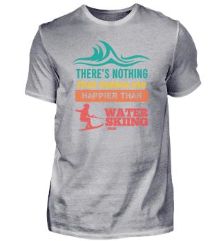 Nothing makes me happier waterskiing