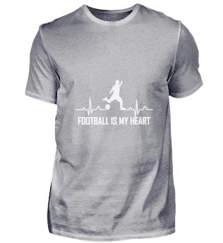 FOOTBALL IS MY HEART Football Heartbeat