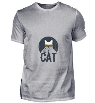 D004-0012 DJ Cat / DJ Katze