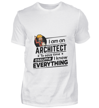 D001-0247B Proud Architect Architekt - T