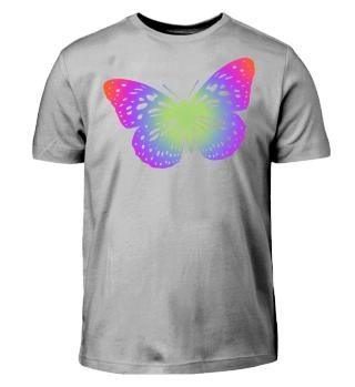 Schmetterling zum Ausmalen II - bunt