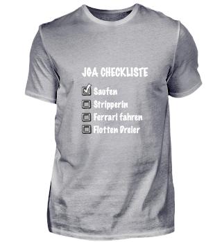 JGA Checkliste