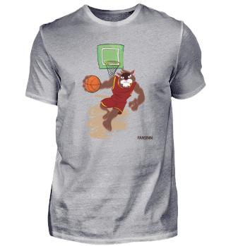 Katze Sport Basketball Spiel Sieg Korb