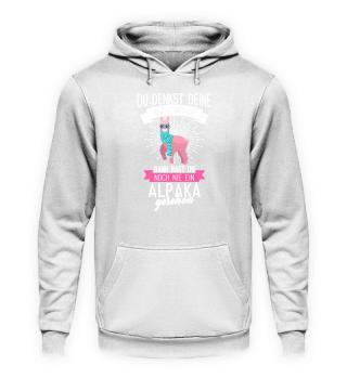 Alpaka Tier · Alpaka ist süß