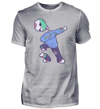 dabbing dab skeleton Halloween Zombie