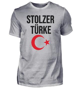 Türke Türkei stolz Halbmond Stern Urlaub