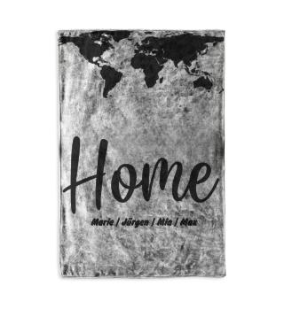 Home Weltkarte personalisiert