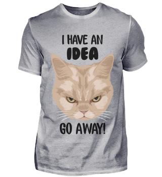 D007-0070A Grumpy Cat - I have an idea G