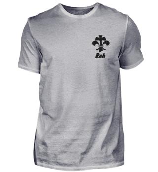 Gruppen-Shirts-Rehe