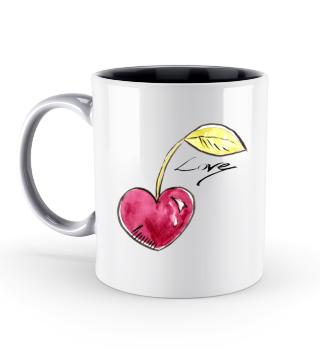 Cherry Herz Valentinstag Geschenk idee