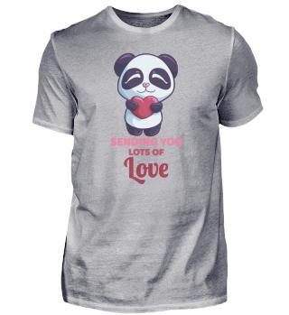 Panda Love Valentine Heart Gift